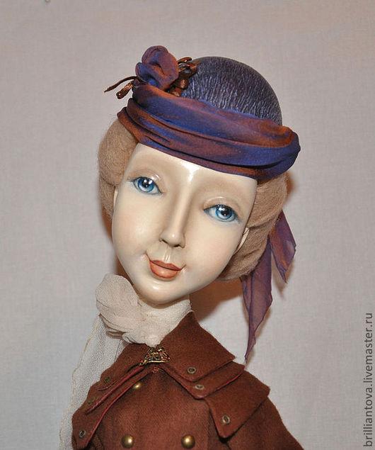 """Коллекционные куклы ручной работы. Ярмарка Мастеров - ручная работа. Купить Кукла """"Курсистка"""". Handmade. Кукла, подарок женщине"""