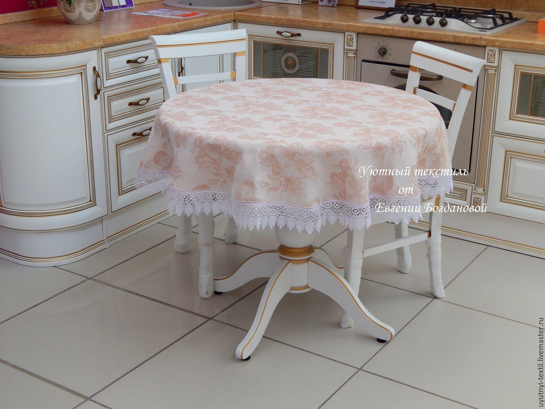 Скатерть на круглый стол своими руками фото фото 835