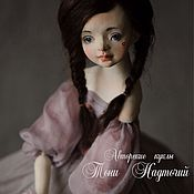 Куклы и игрушки ручной работы. Ярмарка Мастеров - ручная работа Авторская кукла Нинэль. Handmade.