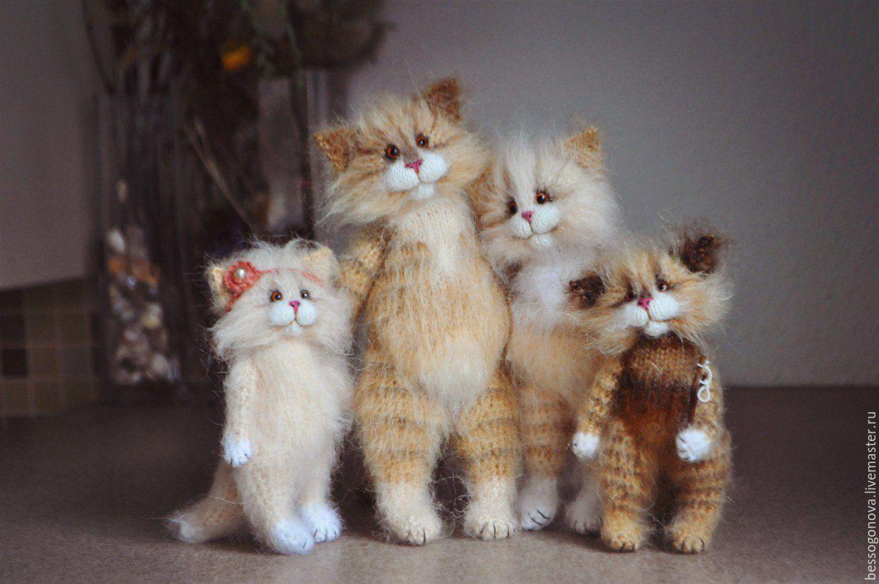 фото кошек и котят игрушечных