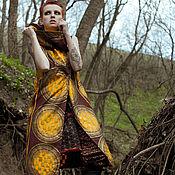 Одежда ручной работы. Ярмарка Мастеров - ручная работа Пальто без рукавов Gold S/M. Handmade.