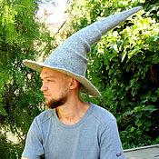 Субкультуры handmade. Livemaster - original item Hat Grey Magician. Handmade.