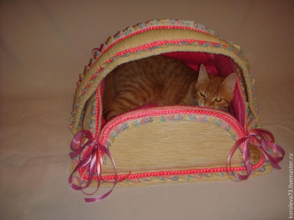 купить лежак для котенка