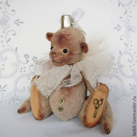 Мишки Тедди ручной работы. Ярмарка Мастеров - ручная работа. Купить Adel. Handmade. Бежевый, винтаж, 5 шплинтовых соединений