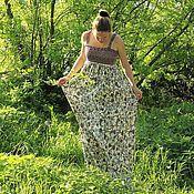 Одежда ручной работы. Ярмарка Мастеров - ручная работа Трикотажный сарафан на лямках. Handmade.