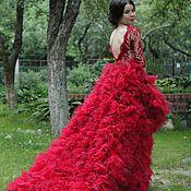 """Свадебный салон ручной работы. Ярмарка Мастеров - ручная работа Свадебное платье """"Flame"""". Handmade."""