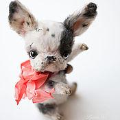 Куклы и игрушки ручной работы. Ярмарка Мастеров - ручная работа Французский бульдог, малышка. Handmade.