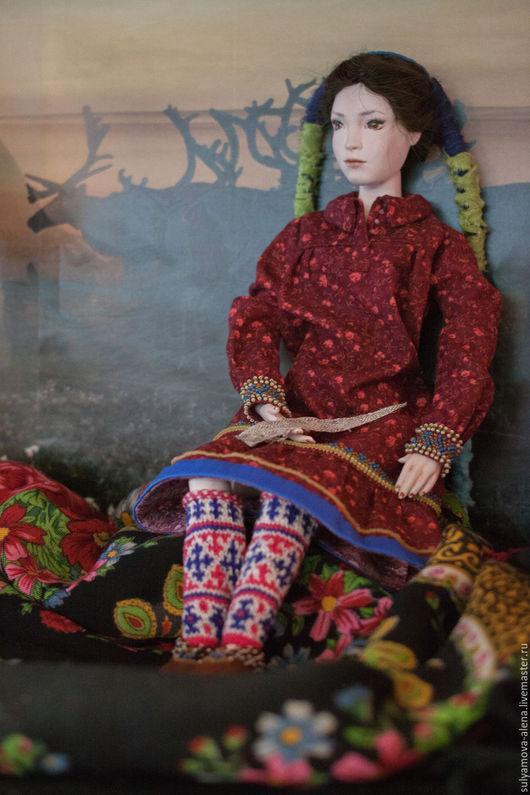 Коллекционные куклы ручной работы. Ярмарка Мастеров - ручная работа. Купить Фарфоровая шарнирная кукла. Марика. Handmade.