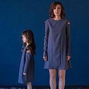 Одежда ручной работы. Ярмарка Мастеров - ручная работа Дизайнерские платья LIKE MOM's в стиле familylook. Handmade.