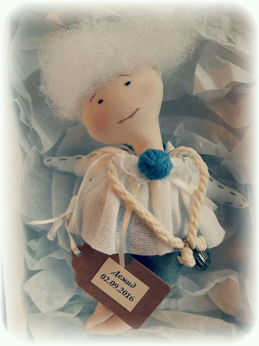 Подарки для новорожденных, ручной работы. Ярмарка Мастеров - ручная работа. Купить Ангел подарок на крещение. Handmade. Крещение, ангел