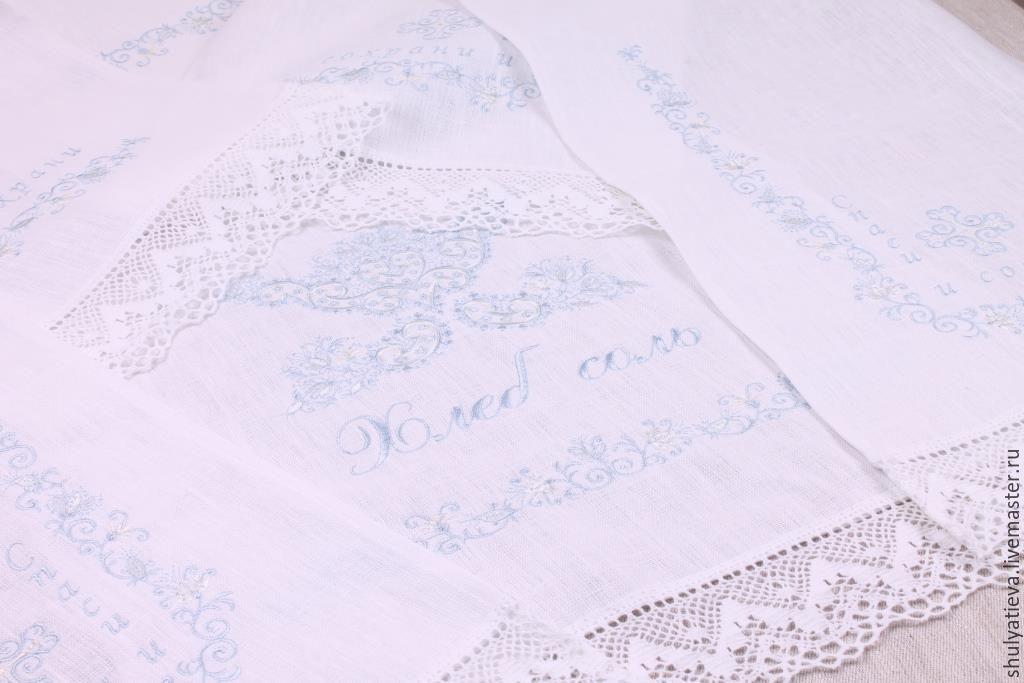 Свадебные рушники ручная работа