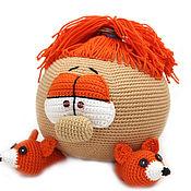 """Куклы и игрушки ручной работы. Ярмарка Мастеров - ручная работа Кукла вязаная """"АЛиска"""", вязаная кукла, кукла смешарик. Handmade."""