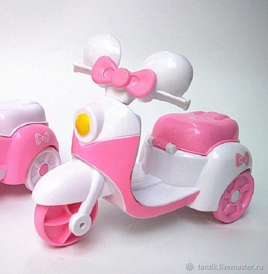Мотоцикл для кукол, Аксессуары для кукол и игрушек, Краснодар,  Фото №1