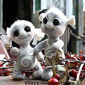 Куклы и игрушки ручной работы. Ярмарка Мастеров - ручная работа Марсюша и Галактюша. Handmade.