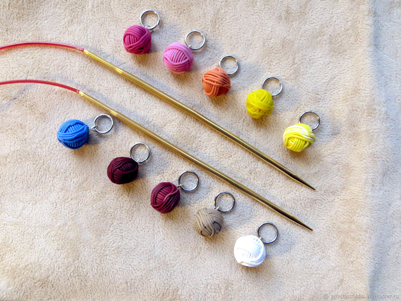маркеры для вязания любимые клубочки купить в интернет магазине