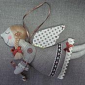 Stuffed Toys handmade. Livemaster - original item Angel with bell. Handmade.