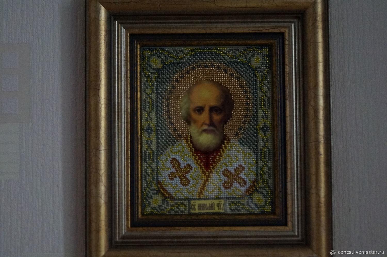 """Икона """"Николай Чудотворец"""", Icons, St. Petersburg,  Фото №1"""