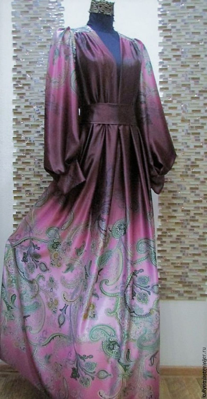 Copyright dress 'Rose Quartz in Burgundy', Dresses, Moscow,  Фото №1