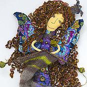 Куклы и игрушки ручной работы. Ярмарка Мастеров - ручная работа Вязальная фея. Handmade.