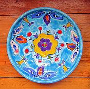 Посуда ручной работы. Ярмарка Мастеров - ручная работа Тарелочки Веселенькие. Handmade.