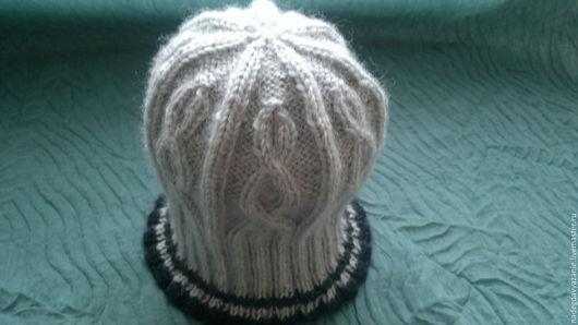 Шапки ручной работы. Ярмарка Мастеров - ручная работа. Купить шапка для мальчика подростка. Handmade. Серый, вязаная шапка, для подростков