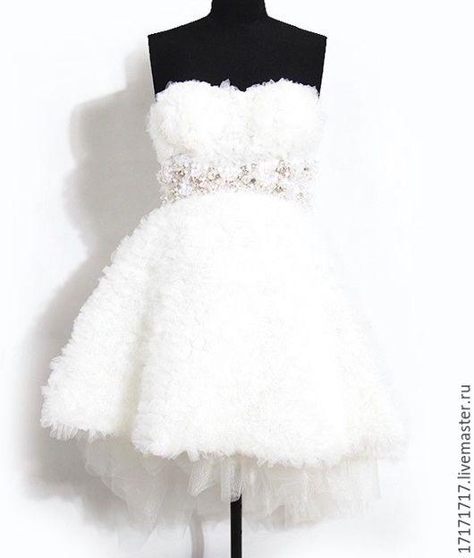 Платья ручной работы. Ярмарка Мастеров - ручная работа. Купить Платье свадебное. Handmade. Комбинированный, свадебное платье, модное платье