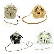 Сумки и аксессуары handmade. Livemaster - original item Bags of animal Faces.. Handmade.