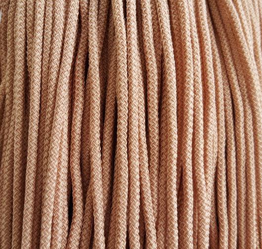Вязание ручной работы. Ярмарка Мастеров - ручная работа. Купить Шнур для вязания ковров. Handmade. Бежевый, купить шнур, шнур