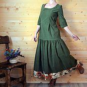 """Платья ручной работы. Ярмарка Мастеров - ручная работа Платье """"Высокие травы"""". Handmade."""