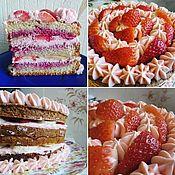 Подарки к праздникам ручной работы. Ярмарка Мастеров - ручная работа торт на заказ. Handmade.