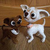 Куклы и игрушки handmade. Livemaster - original item Chihuaha Chucha. Handmade.