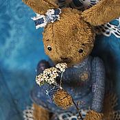 Куклы и игрушки ручной работы. Ярмарка Мастеров - ручная работа Тедди-Заяц Иринка. Весенняя песенка.. Handmade.