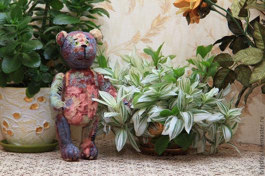 Мишки Тедди ручной работы. Ярмарка Мастеров - ручная работа. Купить Мишка Тедди из плюша Анри. Handmade.