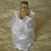 Свадебный салон ручной работы. Ярмарка Мастеров - ручная работа Мешочек на бутылку. Handmade.