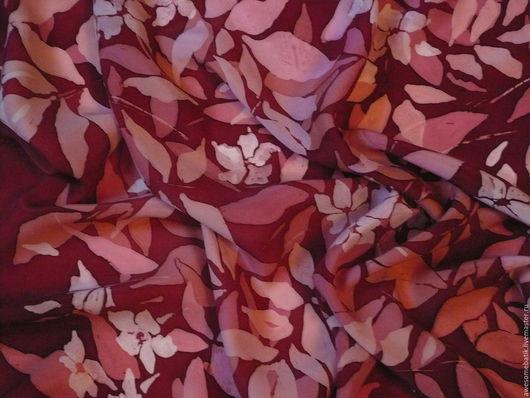 Шали, палантины ручной работы. Ярмарка Мастеров - ручная работа. Купить Шелковый платок батик Жасмин 2. Handmade.