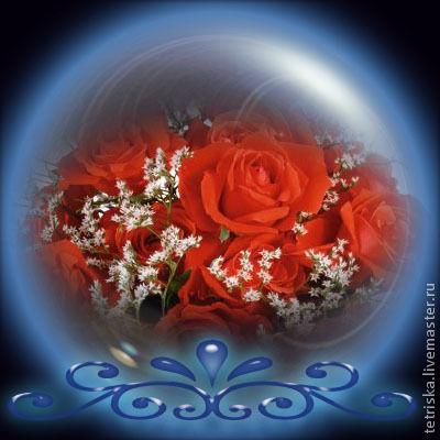 коллаж цветы открытка, Иллюстрации, Санкт-Петербург, Фото №1