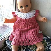 Работы для детей, handmade. Livemaster - original item Knitted dress for girls