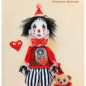 Куклы и игрушки ручной работы. Ярмарка Мастеров - ручная работа авторская кукла Клоун. Handmade.