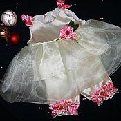 """Работы для детей, ручной работы. Ярмарка Мастеров - ручная работа Платье для девочки """"Lemon flavor"""". Handmade."""