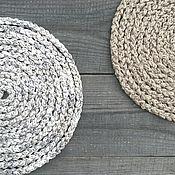 Украшения handmade. Livemaster - original item Set Long Beads Scarf Knitted Braided Lariat Belt Beige Boho. Handmade.