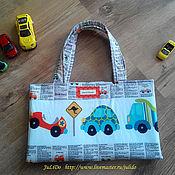 """Работы для детей, ручной работы. Ярмарка Мастеров - ручная работа сумка-транформер """"Ралли"""". Handmade."""