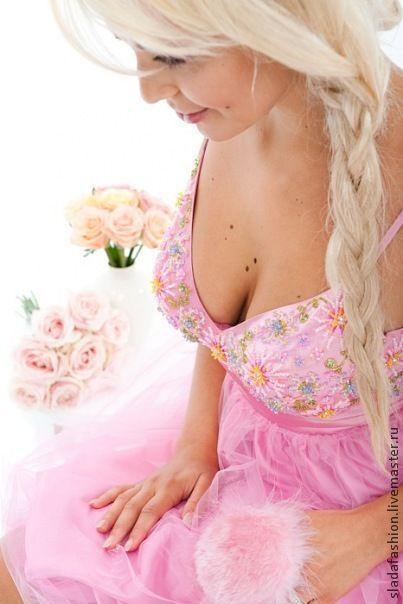 """Платья ручной работы. Ярмарка Мастеров - ручная работа. Купить Платье """"Розовая принцесса"""". Handmade. Розовое платье, выпускное платье"""