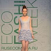 Одежда ручной работы. Ярмарка Мастеров - ручная работа Маленькое воздушное платье. Handmade.