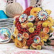 Сувениры и подарки ручной работы. Ярмарка Мастеров - ручная работа Прянички в букете невесты. Handmade.