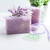 Косметика ручной работы handmade. Livemaster - original item Natural soap from scratch Night beauty purple gifts for women. Handmade.