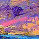 """Пейзаж ручной работы. Заказать """"В Танце с Волнами"""" - картина маслом с морем и чайками. ЯРКИЕ КАРТИНЫ Наталии Ширяевой. Ярмарка Мастеров."""