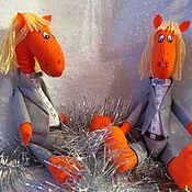 Куклы и игрушки ручной работы. Ярмарка Мастеров - ручная работа Конь офисный. Игрушка. Handmade.