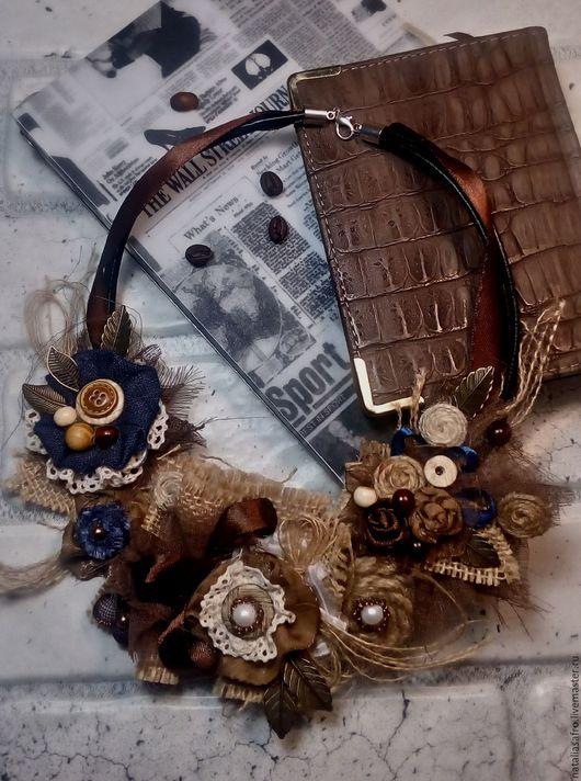 Комплекты украшений ручной работы. Ярмарка Мастеров - ручная работа. Купить Комплект Горячий шоколад.В стиле бохо. Handmade.