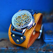 Украшения ручной работы. Ярмарка Мастеров - ручная работа Женские наручные часы Corsica. Handmade.