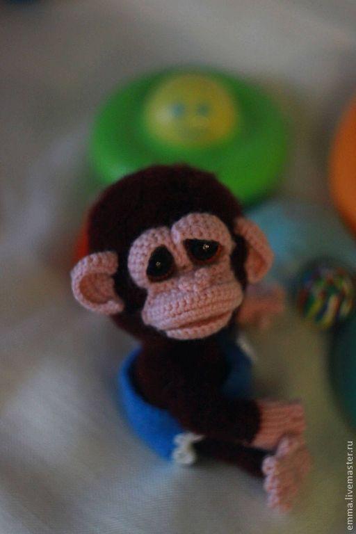 """Обучающие материалы ручной работы. Ярмарка Мастеров - ручная работа. Купить Мастер класс """"Гаврилко""""маленькая обезьянка. Handmade. Обезьянка, холлофайбер"""